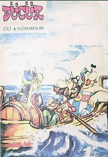 Bücür (cilt 6): Normanlar [9] Covers Normanlar and Britonlar are exchanged (no. 16-18) sayi: